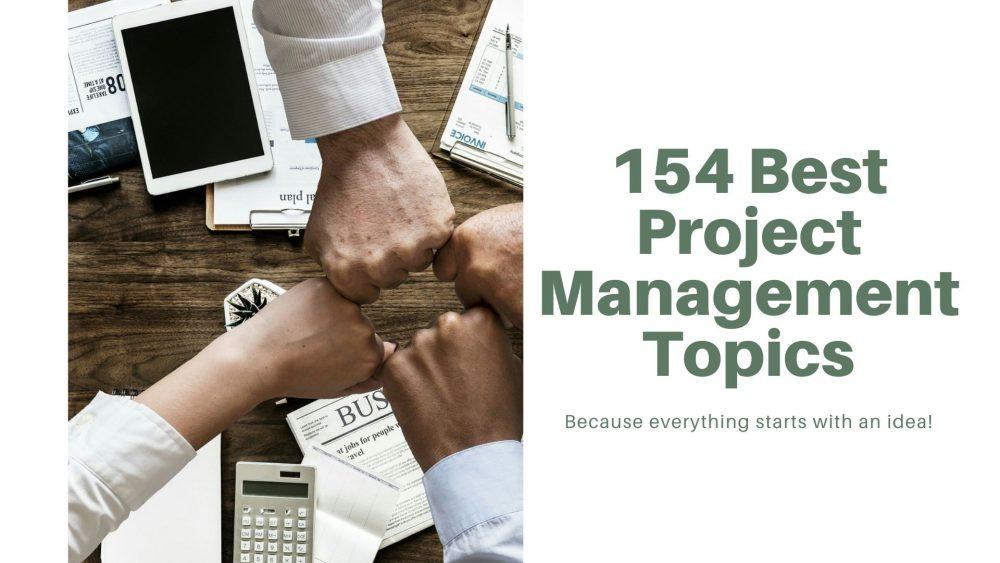project management topics