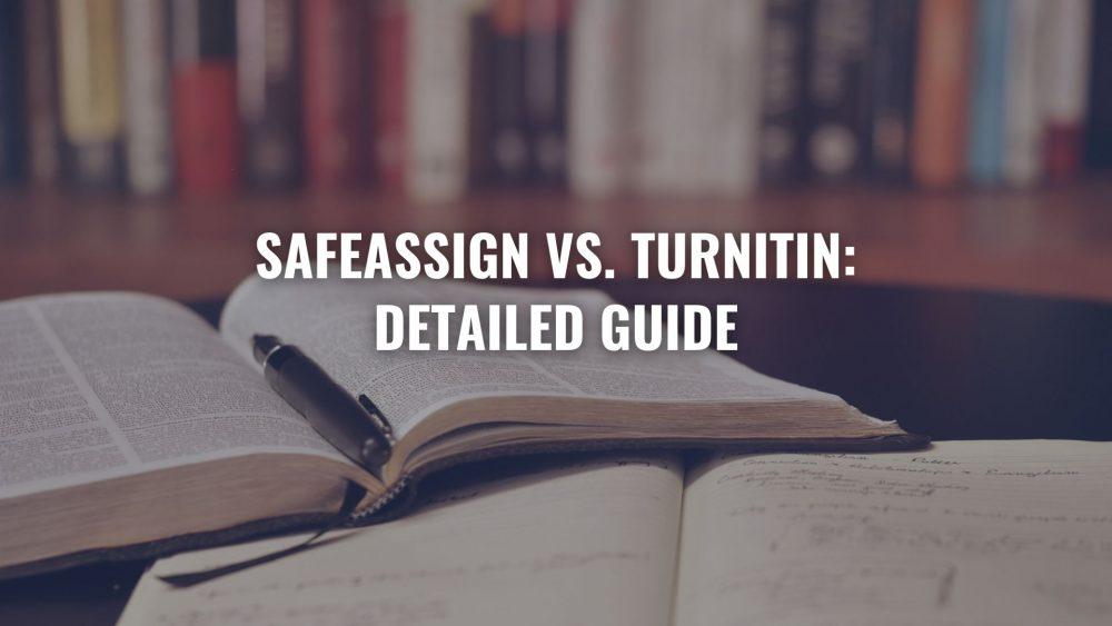 SafeAssign vs. Turnitin
