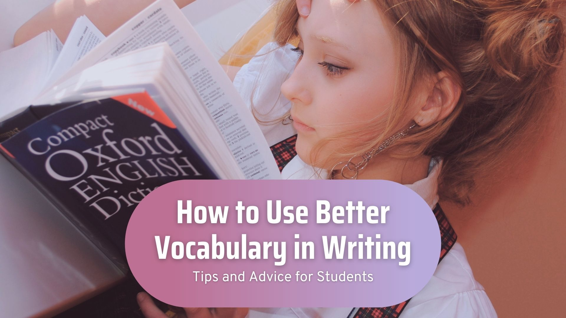 how to use better vocabulary in writing